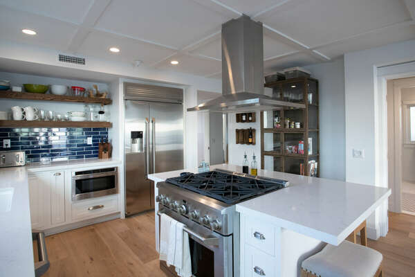State-of-the-Art Kitchen in our Mission Beach House Rental