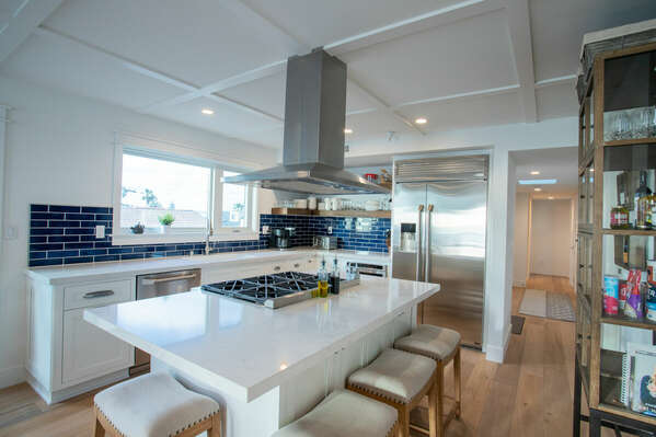 Large, Open Kitchen in our Mission Beach House Rental