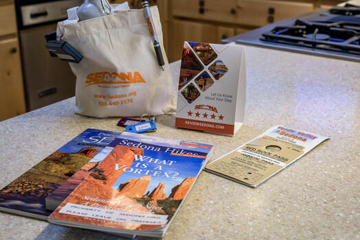 Sedona Area Information and Red Rock Parking Pass Available to Use During Your Stay