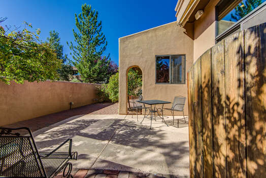 Patio off Living Room and Master Bedroom  Wonderful Views of Thunder Mountain