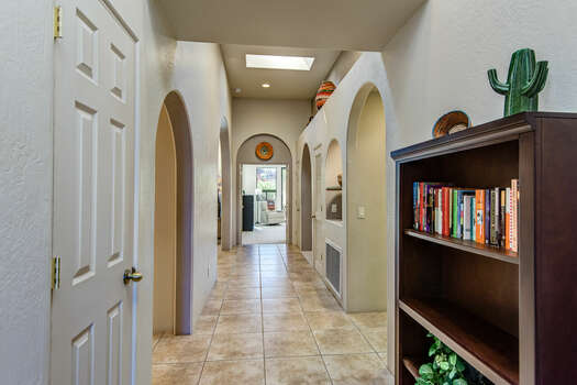Entry into the Expansive Property with Lovely Finishes and Touches