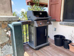 Lower Level BBQ Grill