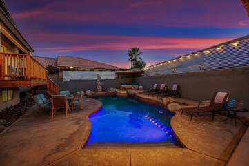 The kids will never want to leave with a backyard like this!
