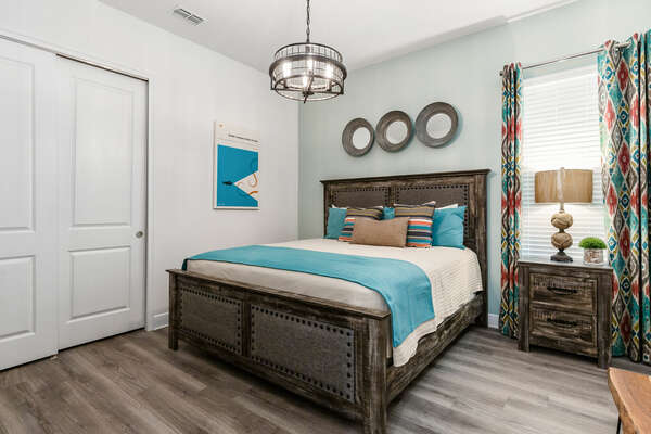 Dive under the sea in the bedroom