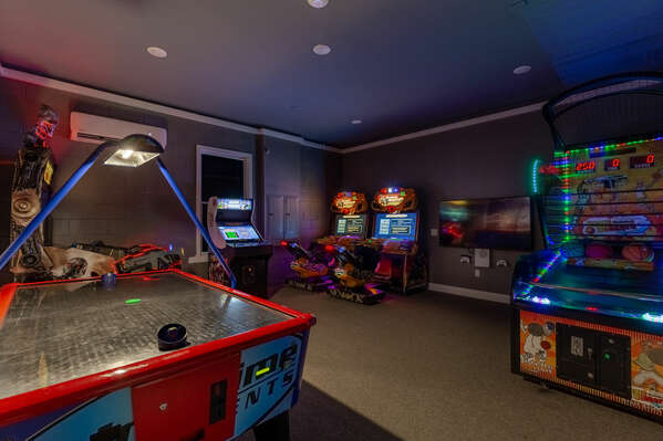 Looking for fun? Head the the games room!