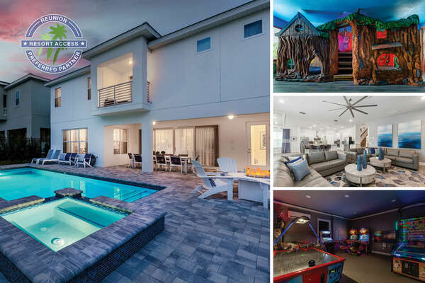Welcome to the Happiest House on Earth, a luxury 10 bedroom home designed with vacation in mine | PHOTOS TAKEN: July 2020