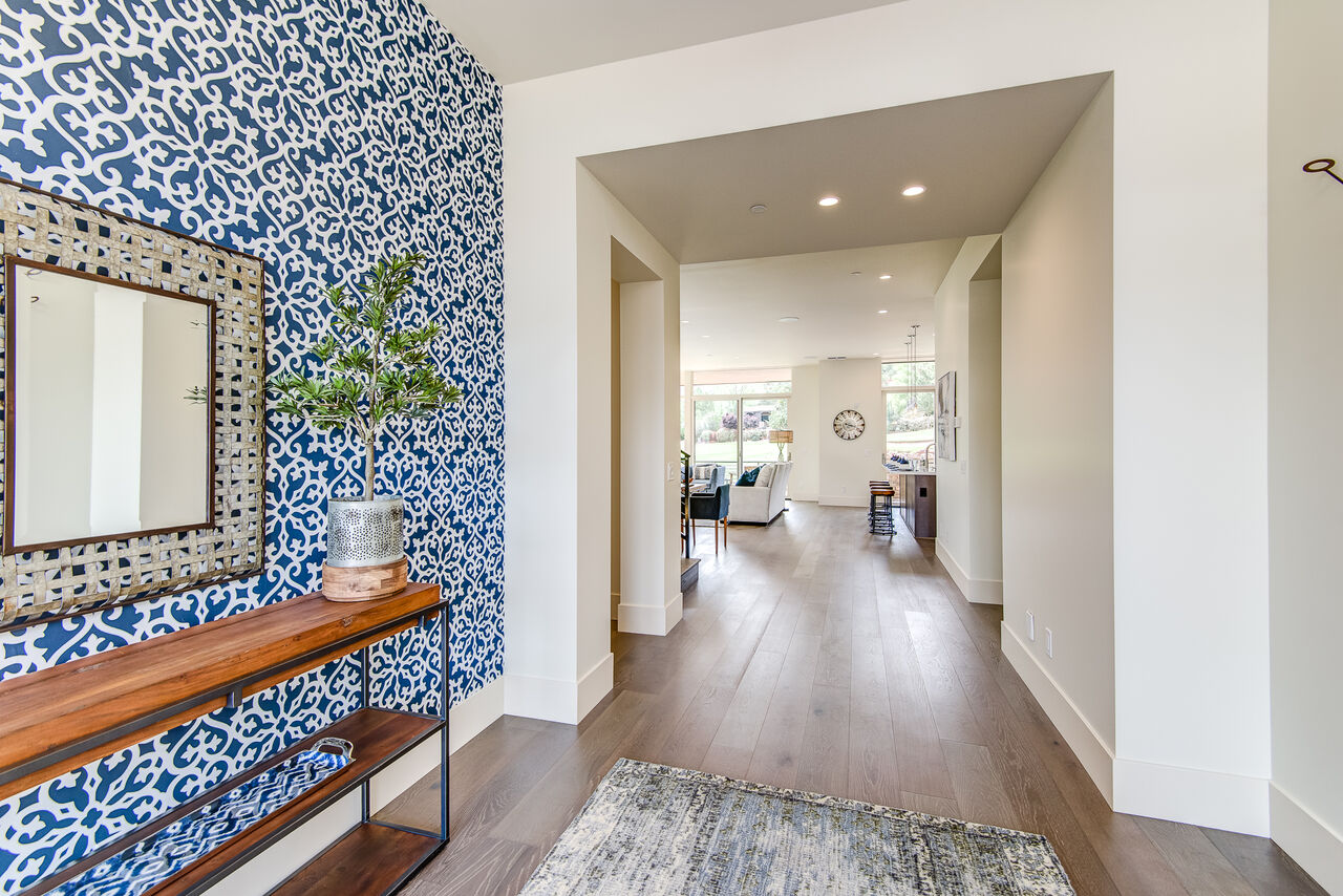 Front Entry into This Gorgeous, Luxury Townhome