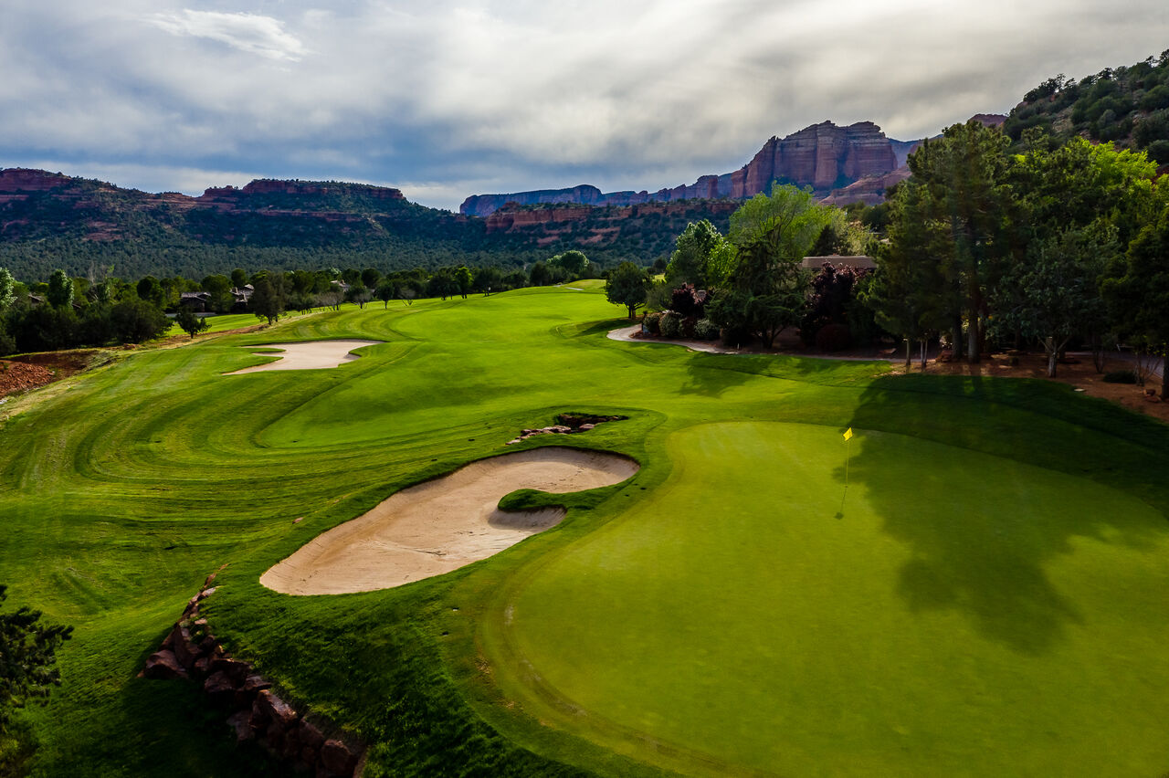 Surrounded by the Sedona Scenery