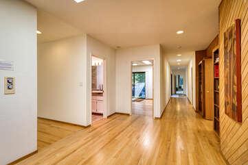 Clean, open space indoors