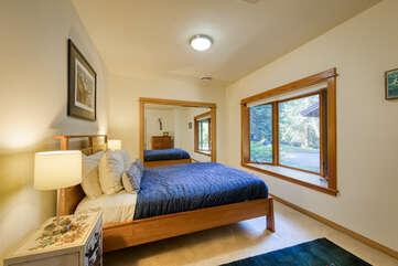 Comfortable bedding and unmatchable views