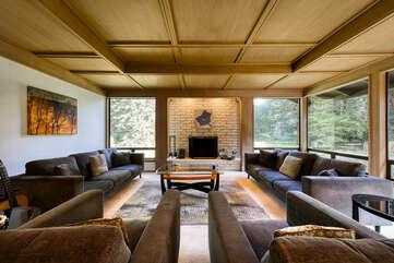 Living room — sleek and open