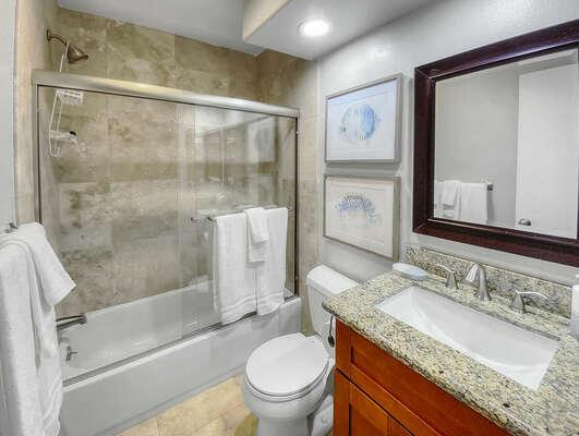 Bunk Room En-Suite Bath - Second Floor