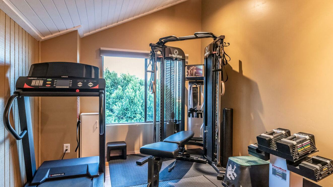 Fitness Area in Guest Bedroom 3