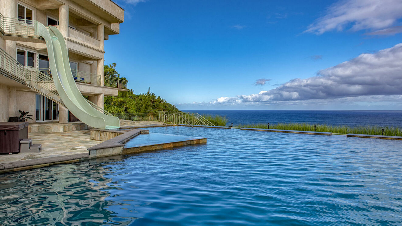 Private Pool with Ocean Views