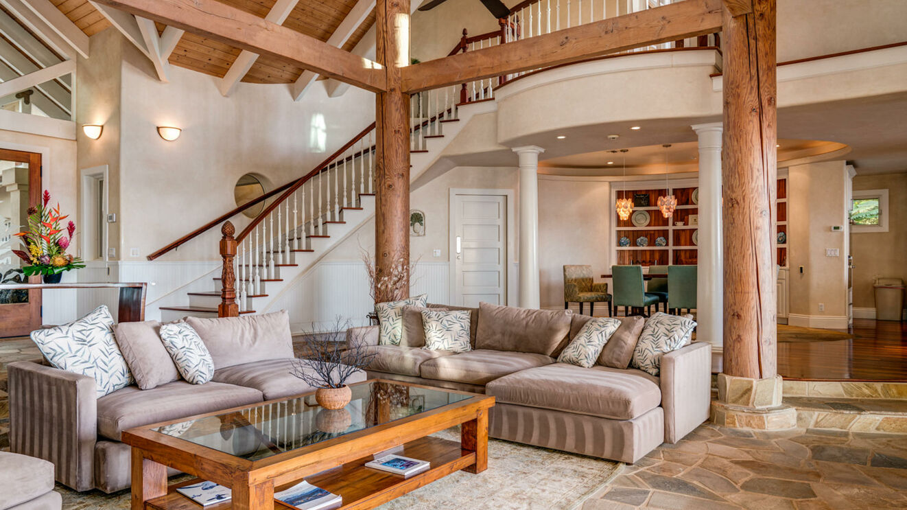 Great Room & Living Area