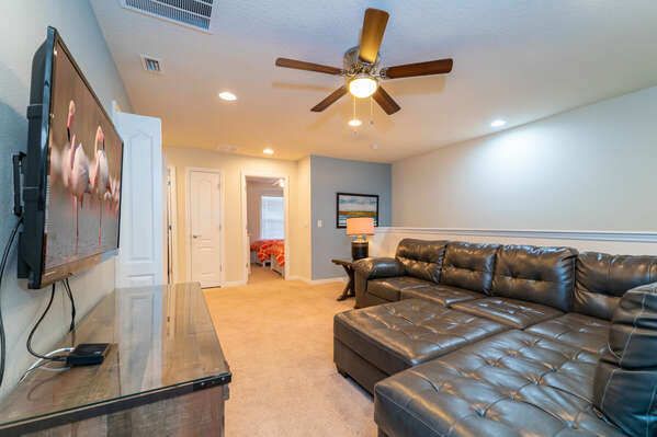 loft area sectional seating
