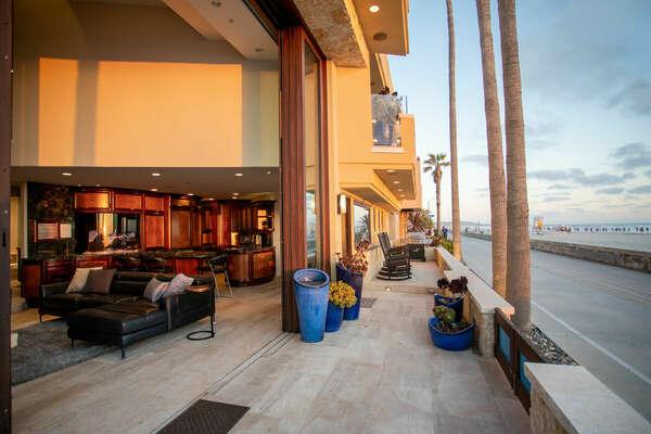 Guests Can Enjoy Indoor-Outdoor Living.