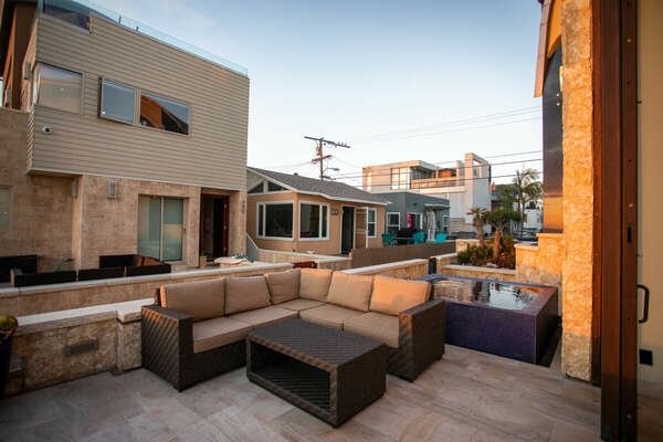 Patio Includes Outdoor Furniture.