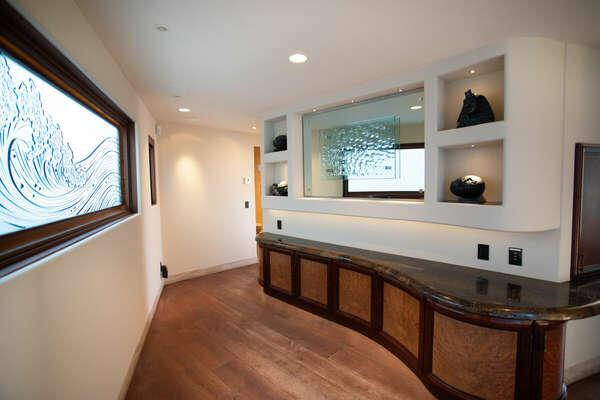 Second Floor Hallway to Guest Bedrooms.