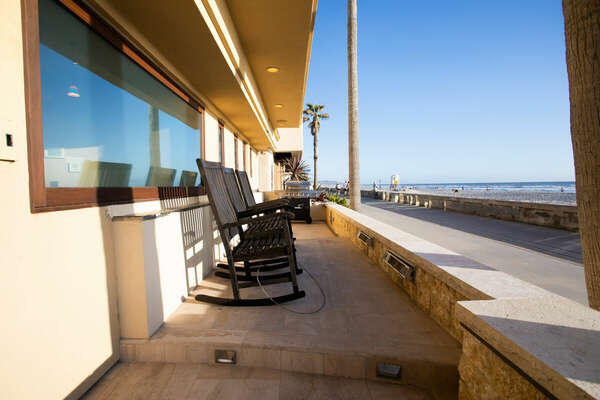 Enjoy Outdoor Seating on Patio.