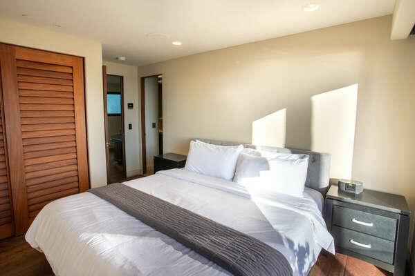 Master Bedroom Includes an En-Suite Bath.