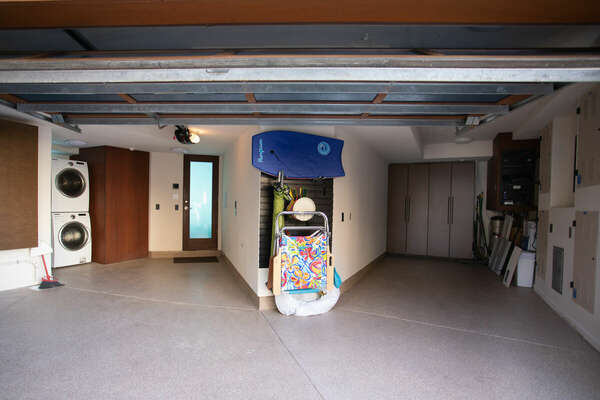 Image of the Interior of Garage.