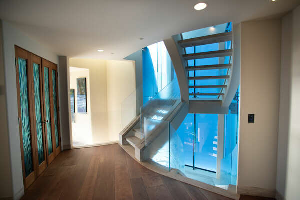 Stairwell to Second Level of Property.