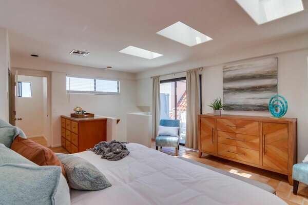 East Master Bedroom on 3rd Floor with King Bed
