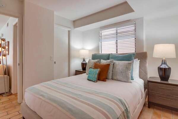 East Guest Bedroom with Queen Bed on 2nd Floor