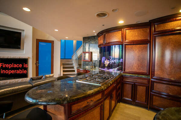 State-of-the-Art Kitchen in San Diego Vacation Home.