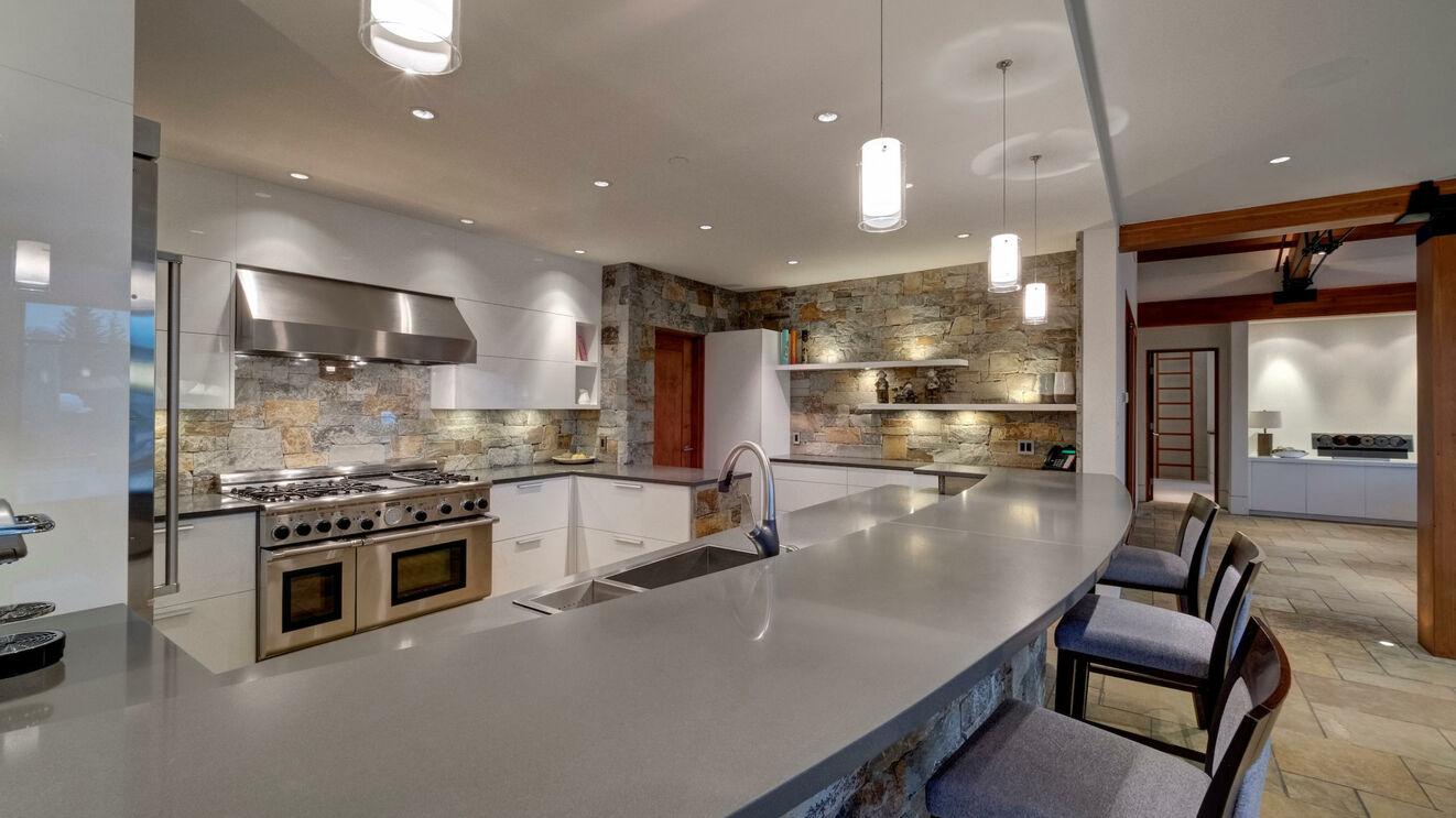 Gourmet Kitchen & Breakfast Bar