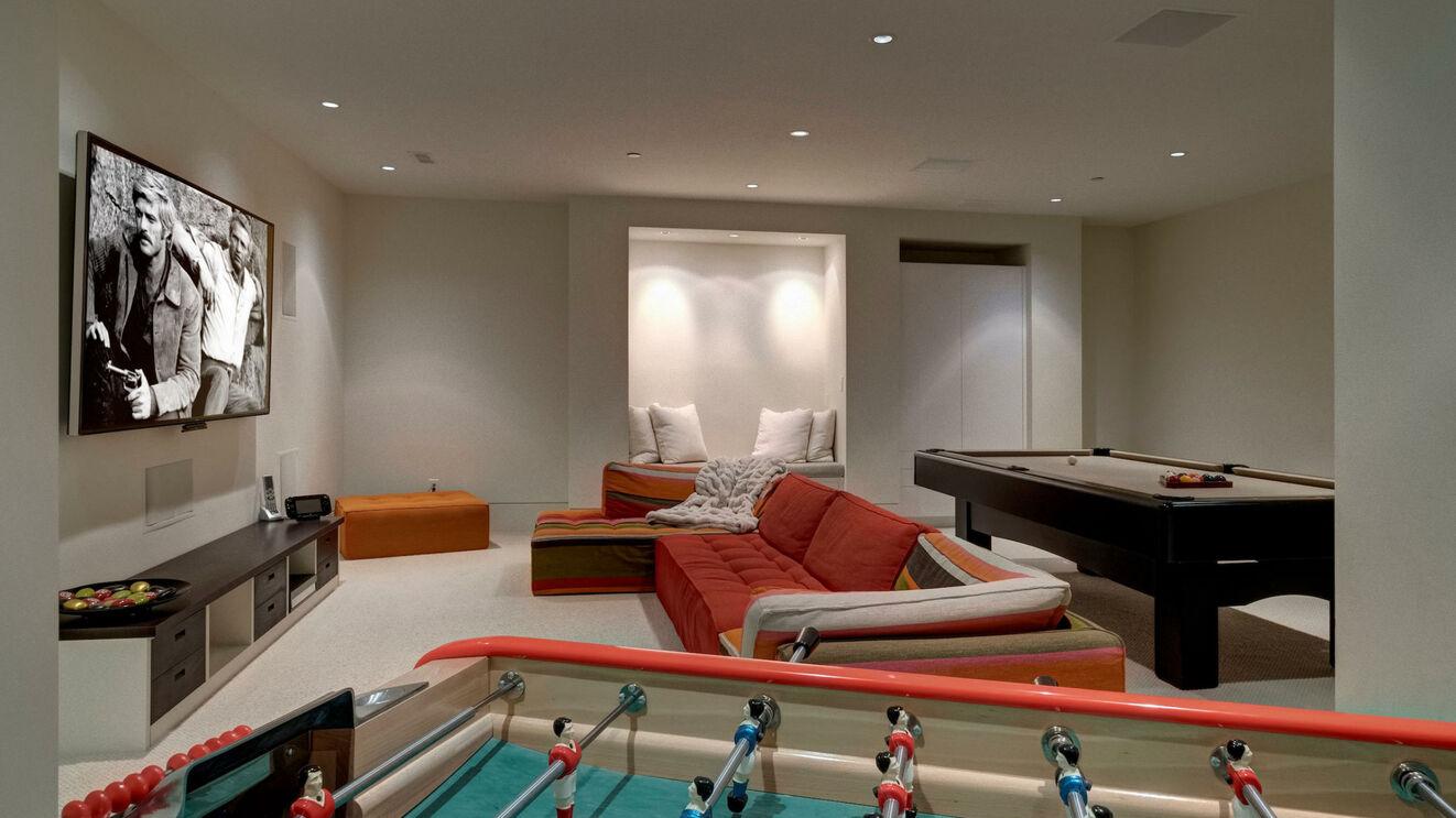 Billiards & Media Room