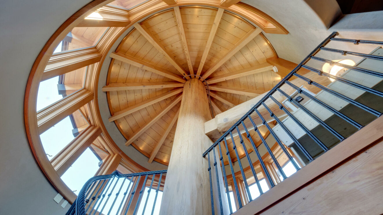 Stairway to Cupola