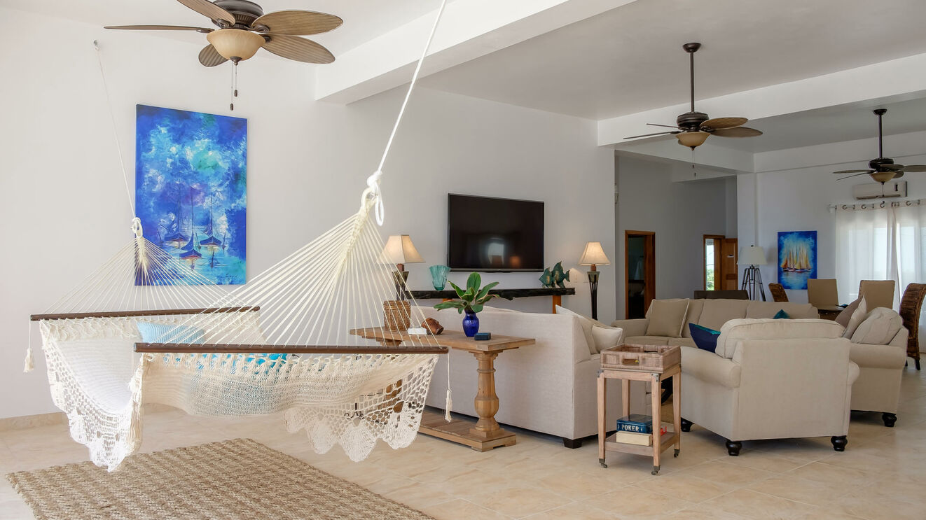 Hammock & Living Area