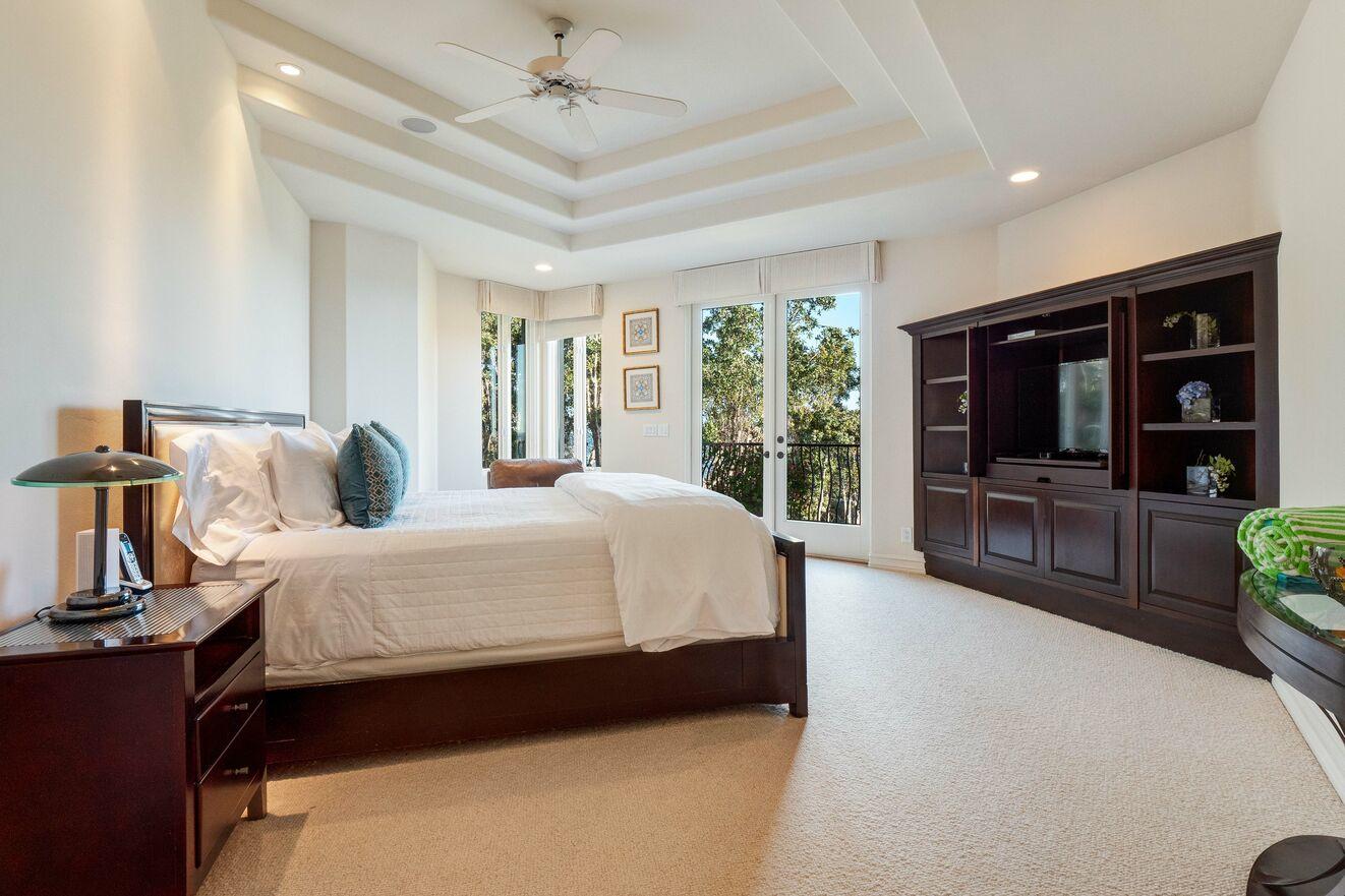 Master Bedroom on the top floor
