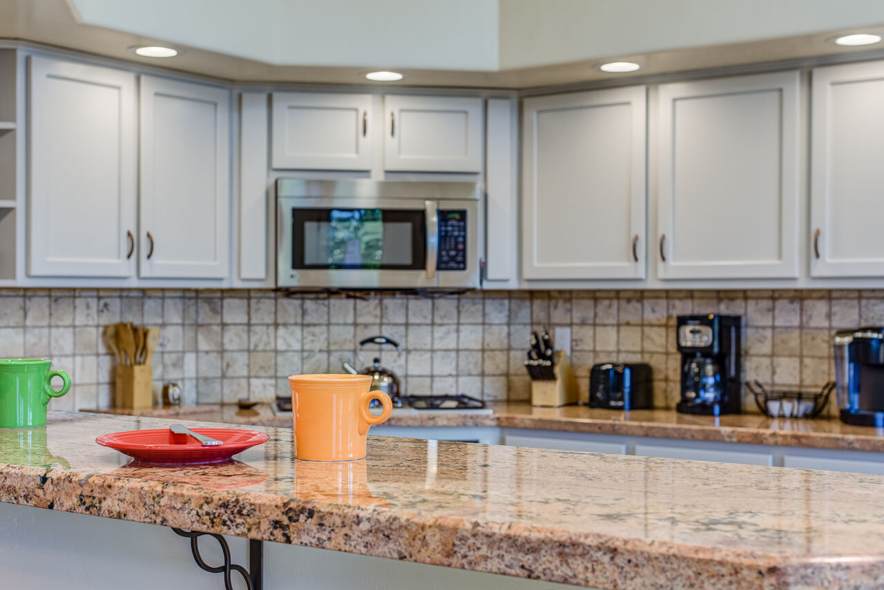 Plenty of Counter Space - Perfect for Meal Prep and Entertaining