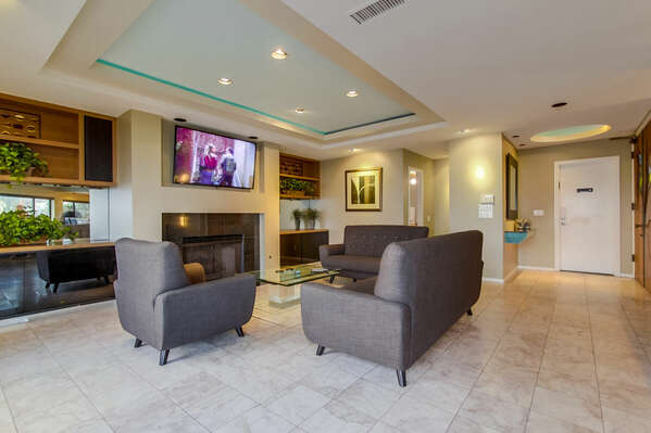 Living Area with couches and chair