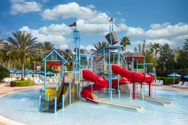 With a Resort Club membership the Water Park is available. Be sure to book ahead of the trip.