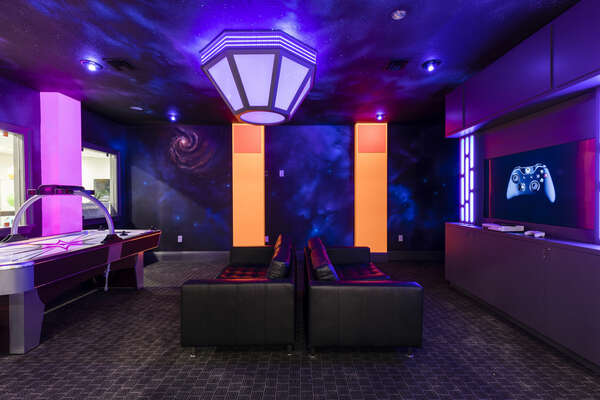 Basement Lounge - Game Room