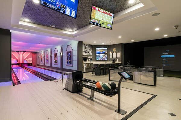 Basement Lounge - Bowling Alley