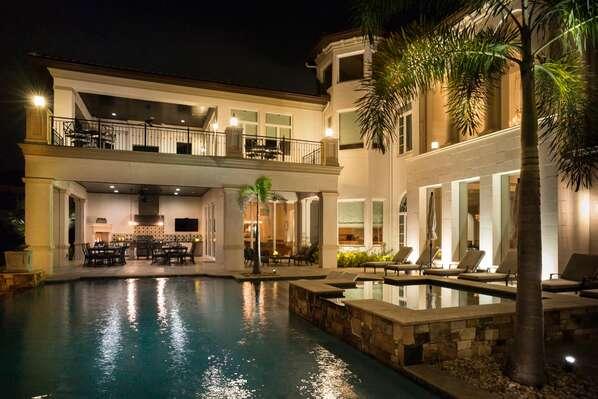 Pool - Night View