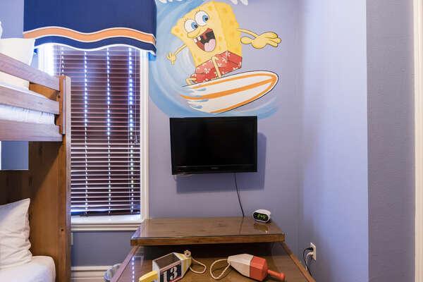 Guest Suite 6 - Spongebob Squarepants Theme