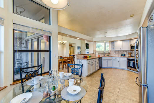 Expansive Granite Counters - Perfect for Meal Prep and Entertaining