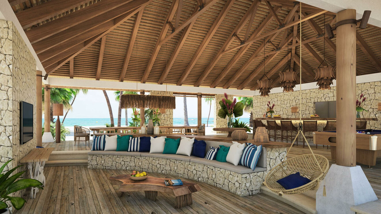 Palapa Living Area