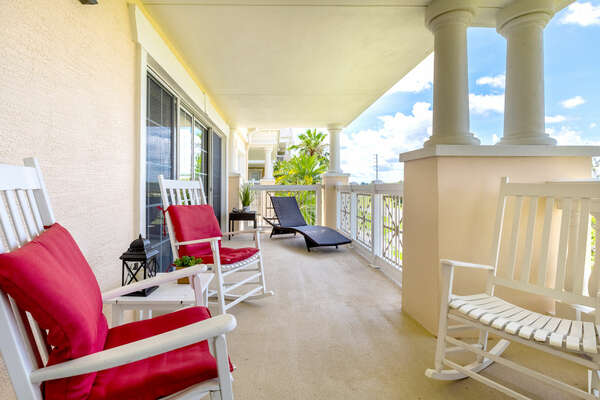 Enjoy direct access to the private balcony from the master bedroom