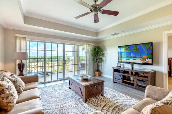 Feel right at home in this living area