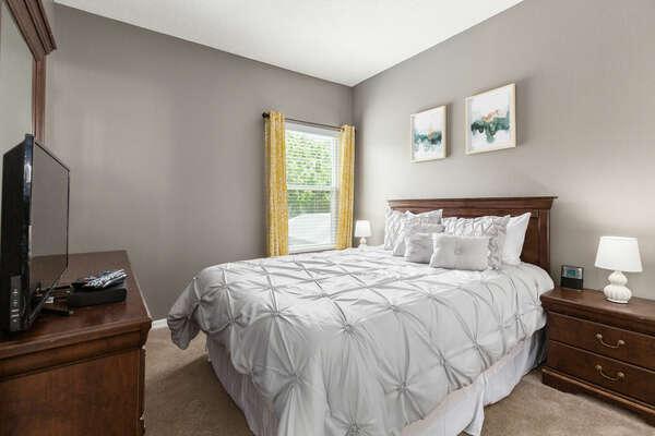 Relax in comfort in this bedroom