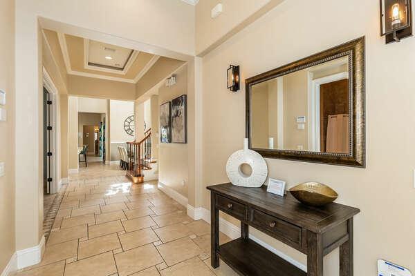 Detailed foyer