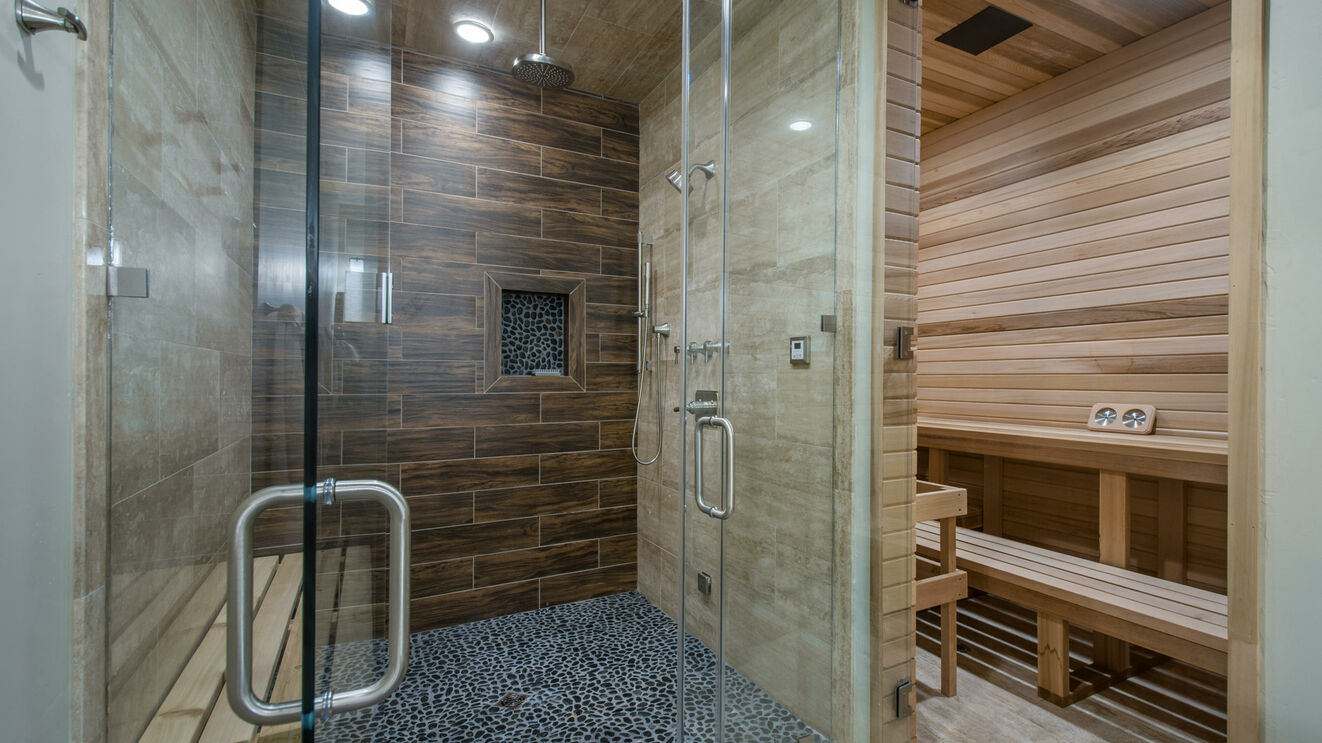 Steam Shower & Sauna