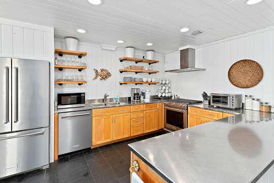 Spacious Kitchen in our Beachfront Rental in St. Simons Island, GA